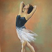 Для дома и интерьера handmade. Livemaster - original item Ballerina Print copyright 13х18. Handmade.