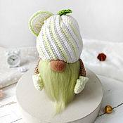 Куклы и игрушки handmade. Livemaster - original item The Dwarf Muffin. Interior decor.. Handmade.
