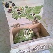 Подарки к праздникам ручной работы. Ярмарка Мастеров - ручная работа Шкатулка с Пасхальным яйцом. Handmade.