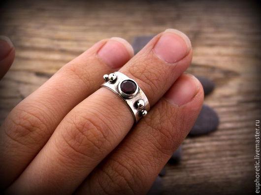 """Кольца ручной работы. Ярмарка Мастеров - ручная работа. Купить """"Space"""" серебряное кольцо на фалангу. Резерв. Handmade. Серебряный"""