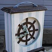 """Для дома и интерьера handmade. Livemaster - original item Clock """"Sea Soul"""". Handmade."""