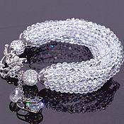 Украшения handmade. Livemaster - original item Bracelet with rock crystal