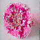 Букет из игрушек Розовая нежность