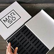 handmade. Livemaster - original item Magnetic box, logo packaging, logo box. Handmade.