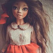 Куклы и игрушки ручной работы. Ярмарка Мастеров - ручная работа Ася- шарнирная куколка. Handmade.