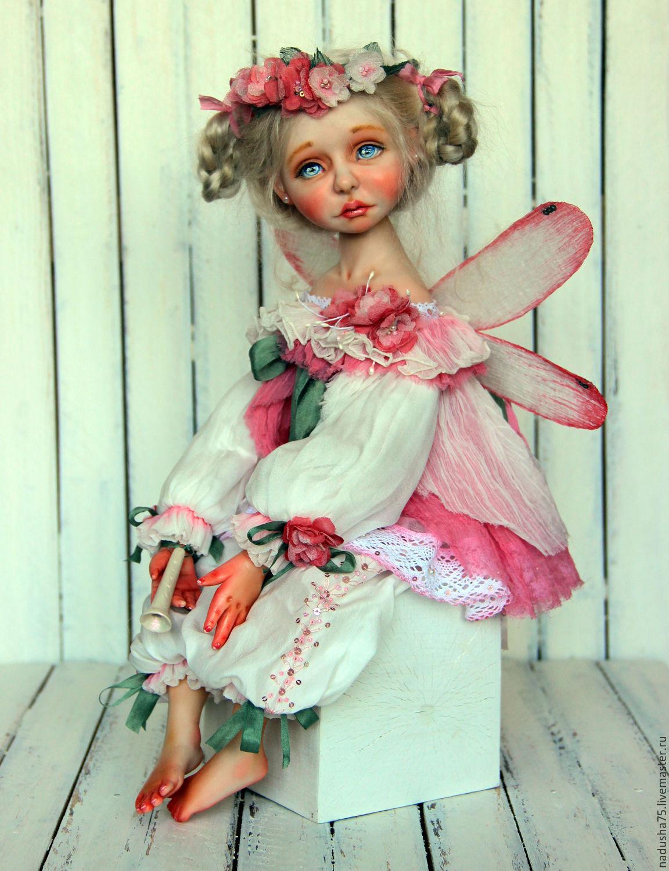 Как сделать куклу-фею из ниток своими руками (пошагово) 33 90