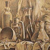 Картины и панно handmade. Livemaster - original item Still life in rustic style. Handmade.
