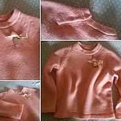 Одежда ручной работы. Ярмарка Мастеров - ручная работа Джемперок для девочки. Handmade.