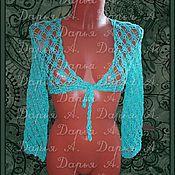"""Одежда ручной работы. Ярмарка Мастеров - ручная работа Болеро """"Летний бриз"""". Handmade."""