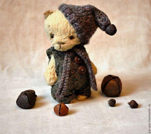 Мишки Тедди ручной работы. Ярмарка Мастеров - ручная работа. Купить Маленький Сэмми (Домашний Гномик). Handmade. Желтый, мишки