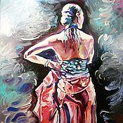 """Картины и панно ручной работы. Ярмарка Мастеров - ручная работа Картина маслом """"Монолог"""". Handmade."""