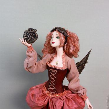 Куклы и игрушки ручной работы. Ярмарка Мастеров - ручная работа Steam Heart. Handmade.