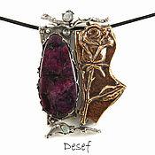 Украшения handmade. Livemaster - original item Pendant: Rose. Handmade.