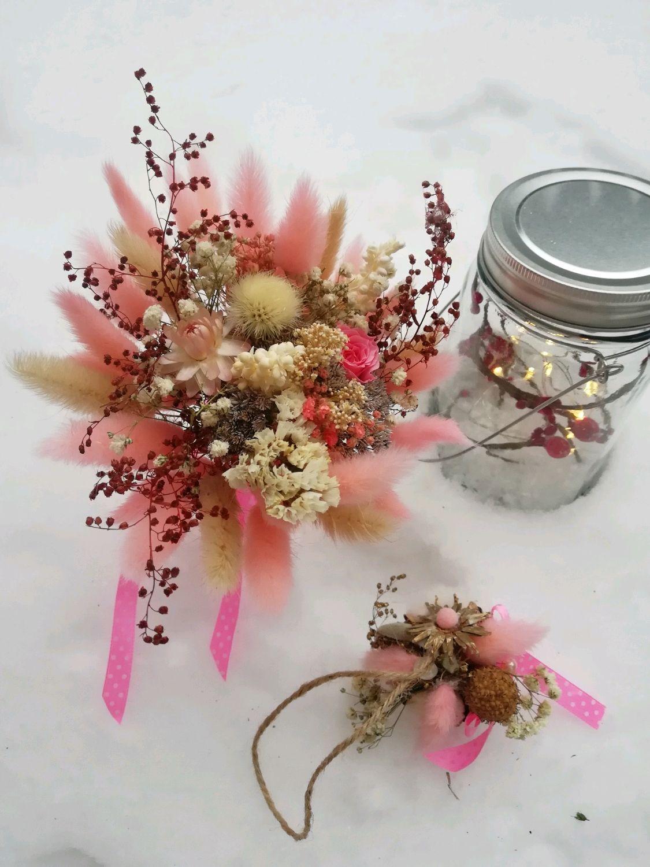 Букет из сухоцветов и стабилизированых цветов, Букеты, Иркутск,  Фото №1