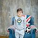 Одежда для мальчиков, ручной работы. Трикотажный костюм с иллюстрацией Лис. Keepcozy. Интернет-магазин Ярмарка Мастеров. Рисунок, костюм для девочки