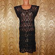 Одежда ручной работы. Ярмарка Мастеров - ручная работа Туника черная. Handmade.