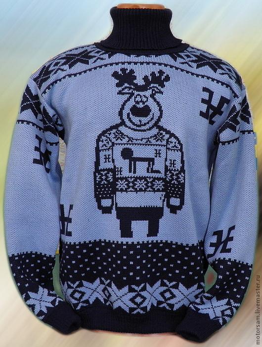 Тату-свитер - ОЛЕНЬ В СВИТЕРЕ