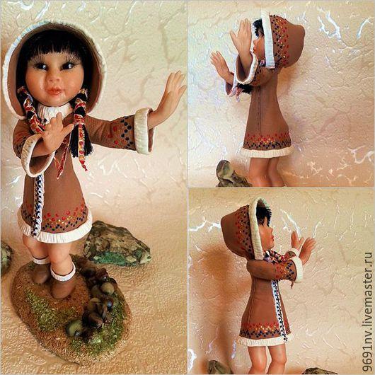 Коллекционные куклы ручной работы. Ярмарка Мастеров - ручная работа. Купить Якутяночка моя. Handmade. Комбинированный, ручная работа