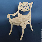 Куклы и игрушки handmade. Livemaster - original item chair for dolls. Handmade.