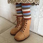 Шарнирная кукла ручной работы. Ярмарка Мастеров - ручная работа Обувь для Паолы и подобных кукол. Handmade.