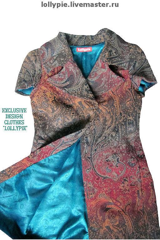 Пиджаки, жакеты ручной работы. Ярмарка Мастеров - ручная работа. Купить Френч Summertime. Handmade. Пиджак, абстрактный, индивидуальный подход