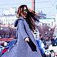 Верхняя одежда ручной работы. Ярмарка Мастеров - ручная работа. Купить пальто вязаное. Handmade. Серый, вязание спицами