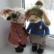 Куклы и игрушки ручной работы. Ярмарка Мастеров - ручная работа Даринка и Антоша.. Handmade.