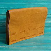 Сумки и аксессуары handmade. Livemaster - original item Leather bag clutch Boho.. Handmade.