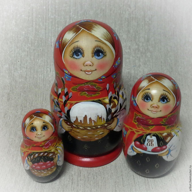 """Матрешка з места. """"Светлая Пасха. мини"""", Матрешки, Москва,  Фото №1"""