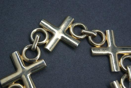 Винтажные украшения. Ярмарка Мастеров - ручная работа. Купить Необычный браслет. Handmade. Золотой, украшение