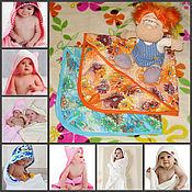 """Подарки к праздникам ручной работы. Ярмарка Мастеров - ручная работа """"Гномик"""" полотенце с капюшоном. Для младенца. Подарок с рождением.. Handmade."""