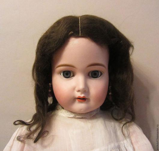 Куклы и игрушки ручной работы. Ярмарка Мастеров - ручная работа. Купить Антикварный мохеровый парик для антикварной куклы.. Handmade. антикварный