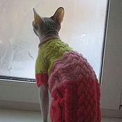 Для домашних животных, ручной работы. Ярмарка Мастеров - ручная работа Свитер для кошки/кота. Handmade.