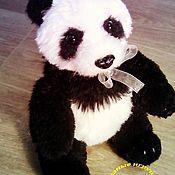 Мягкие игрушки ручной работы. Ярмарка Мастеров - ручная работа Панда большая. Handmade.