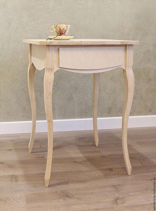 """Мебель ручной работы. Ярмарка Мастеров - ручная работа. Купить Кофейный стол """"Людовиг"""". Handmade. Бежевый, Мебель, массив сосны"""