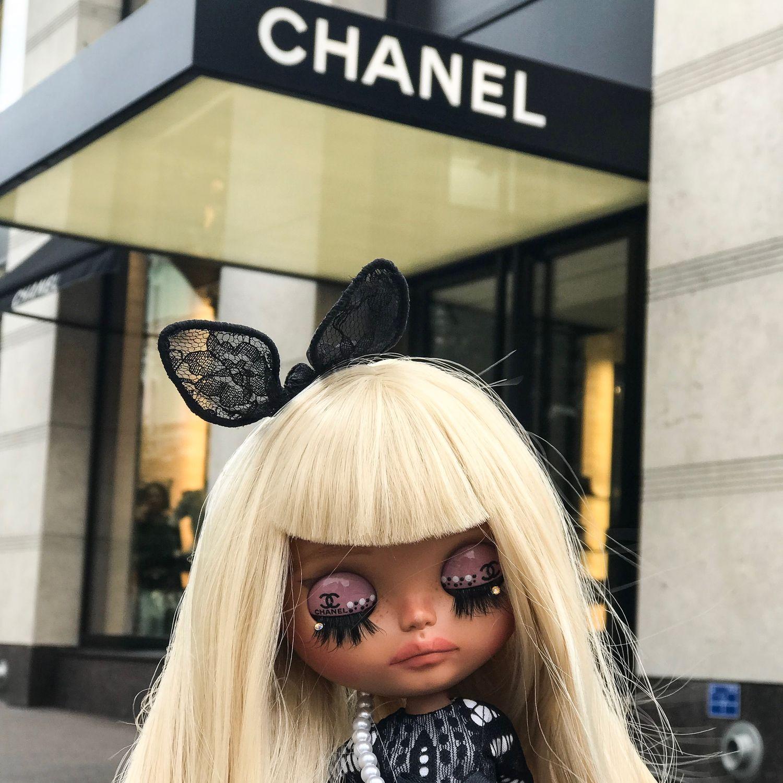 Кукла блайз Chanel, Кастом, Санкт-Петербург,  Фото №1