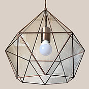 Для дома и интерьера handmade. Livemaster - original item Lamp loft Andromeda copper. Handmade.