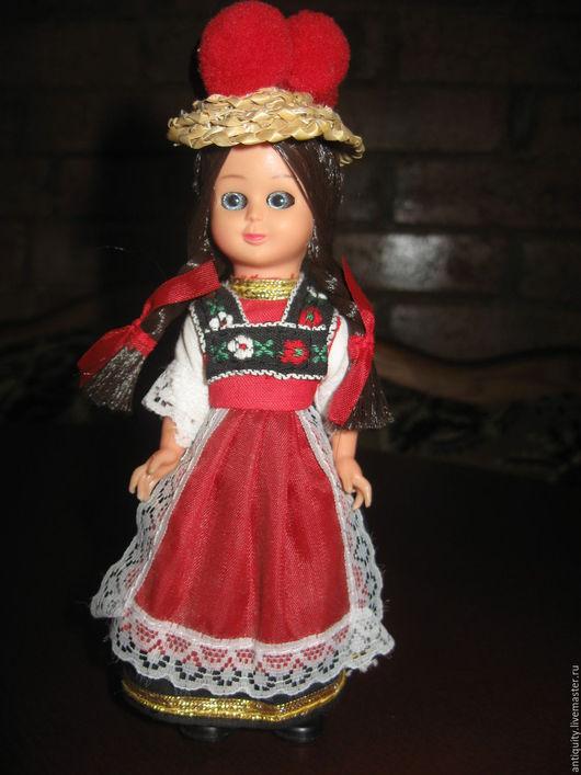 Винтажные куклы и игрушки. Ярмарка Мастеров - ручная работа. Купить Винтажная итальянская кукла фабрики Querzola Marco в нац. костюме. Handmade.
