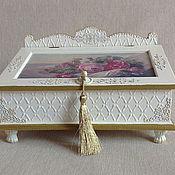 """Для дома и интерьера ручной работы. Ярмарка Мастеров - ручная работа Ларец """"Fleur de Vie"""". Handmade."""