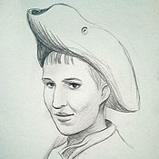 Картины и панно ручной работы. Ярмарка Мастеров - ручная работа Портреты на заказ. Handmade.