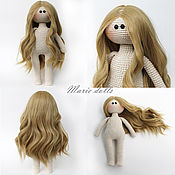 Куклы и игрушки handmade. Livemaster - original item Dolls and dolls: Doll 30 cm without clothes. Interior and a games doll.. Handmade.