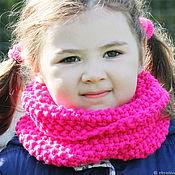 Аксессуары handmade. Livemaster - original item Snood for girls knitted