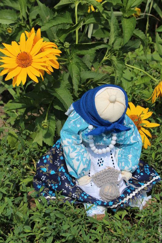 Народные куклы ручной работы. Ярмарка Мастеров - ручная работа. Купить Бабка характерная. Handmade. Бабка, сувенир из россии, старушка
