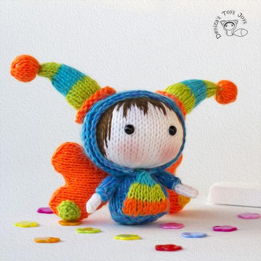 """Обучающие материалы ручной работы. Ярмарка Мастеров - ручная работа. Купить Мастер-класс """"Маленькая куколка Lucky из серии Tanoshi'. Handmade."""