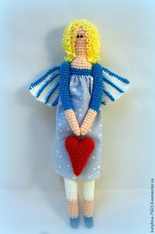 Сказочные персонажи ручной работы. Ярмарка Мастеров - ручная работа. Купить Тильда ангел. Handmade. Разноцветный, тильды, ангел-хранитель