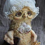 Куклы и игрушки ручной работы. Ярмарка Мастеров - ручная работа Сова миссис Марпл. Handmade.