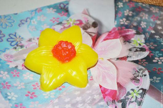 """Мыло ручной работы. Ярмарка Мастеров - ручная работа. Купить Мыло ручной работы """"Нарцисс"""". Handmade. Комбинированный, сувенирное мыло"""