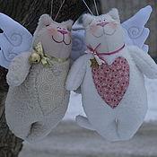 Куклы и игрушки ручной работы. Ярмарка Мастеров - ручная работа котики Пушистые. Handmade.