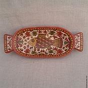Русский стиль handmade. Livemaster - original item Vintage dish