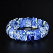handmade. Livemaster - original item Bracelet natural stone sodalite. Handmade.